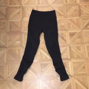 Dark grey lululemon warm leggings